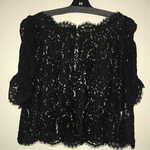 Blacks lace nice shirt